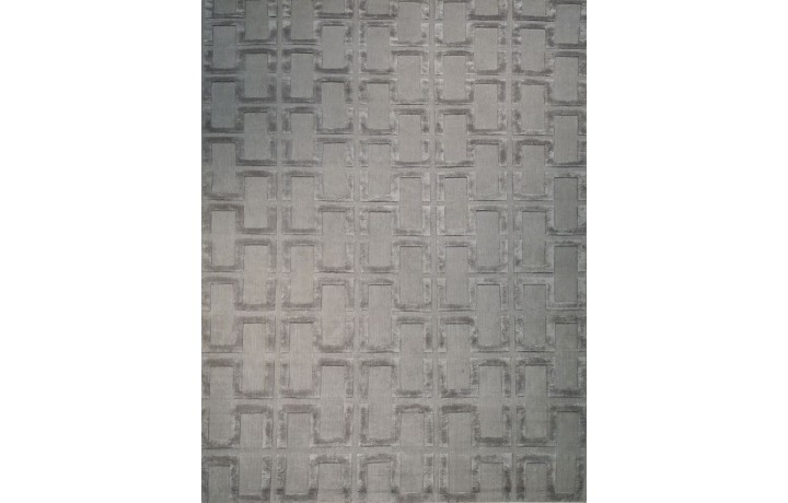 TAPIS MODERNE GRAPHIC ZIGZAC TAUPE