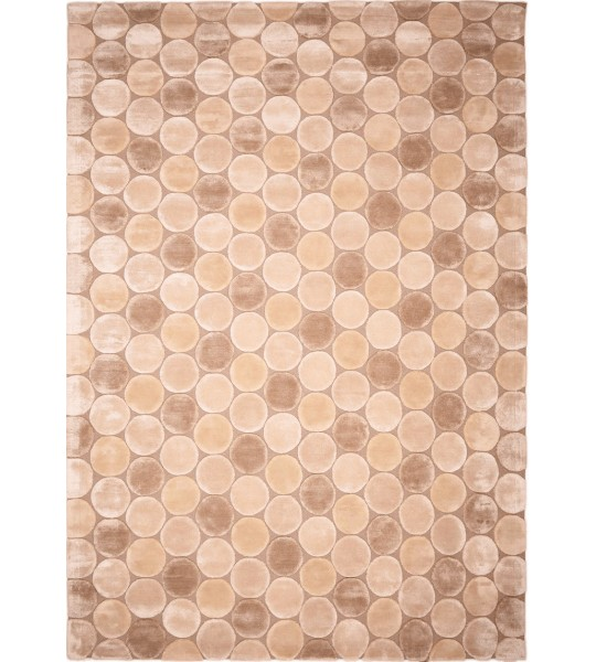 """TAPIS MODERNE """"COCO BEIGE"""""""